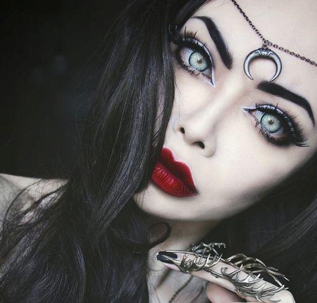 Демонический макияж модельное агенство тайга