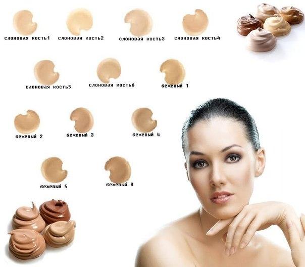 Как подобрать цвет тонального крема под цвет кожи
