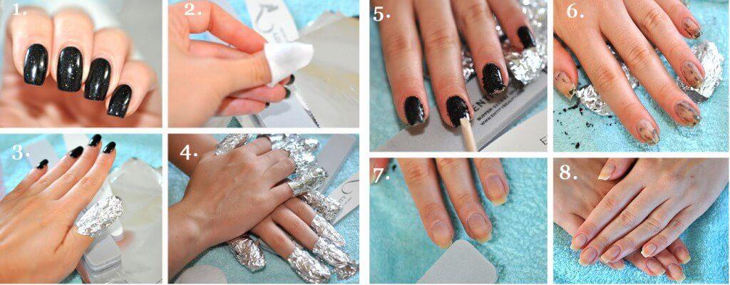 Зняти гель-лак з нігтів в домашніх умовах самостійно: як?