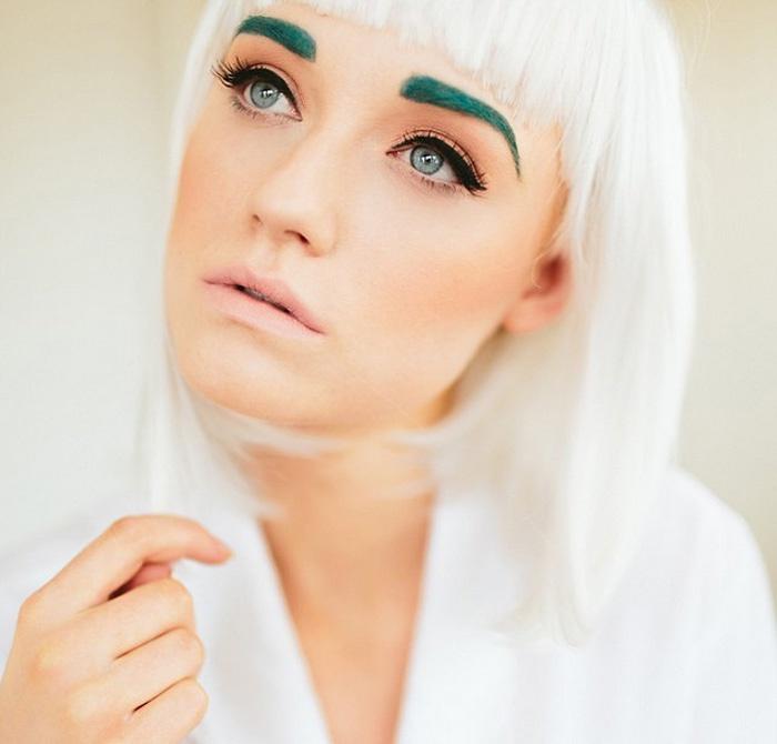 Как сделать брови яркими фото